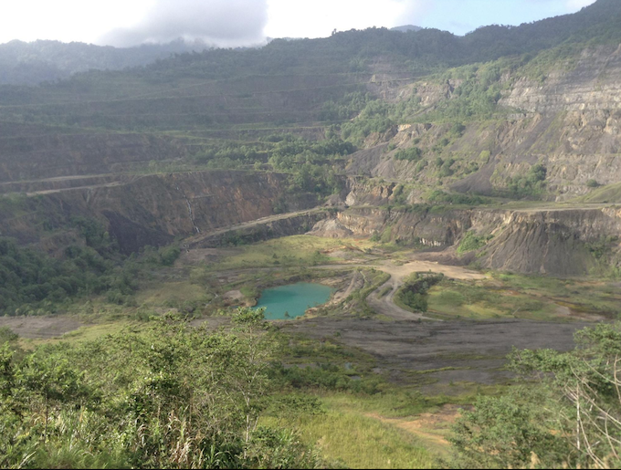 Panguna copper mine on Bougainville ... the catalyst for decade-long civil war. Image: Aloysius Laukai/Bougainville Forum