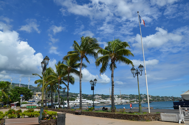 French Polynesia, Papeete waterfront Photo: RNZ