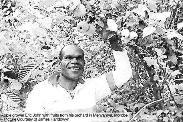 Menyamya villager Eric John
