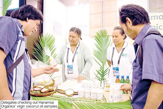 Coconut oil producer sees Apec as road to new markets