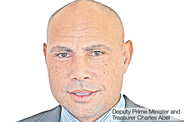 Deputy Prime Minister and Treasurer Charles Abel