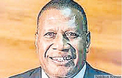 EAST New Britain Governor Nakikus Konga