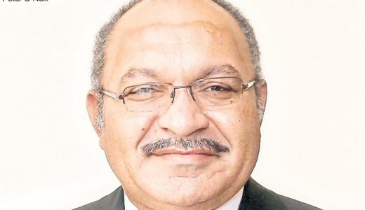 The PNG Prime Minister: Peter O'Neill