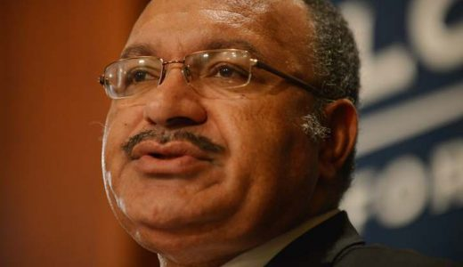 PNG PM Peter O'Neill Photo: AFP / Peter Parks