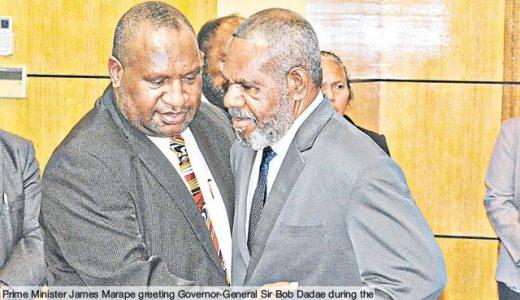 PNG Prime Minister, James Marape