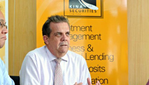 Kina Securities former Chief Executive Syd Yates . Photo: EntrepreneurLink/FB