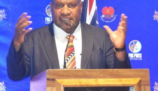 Prime Minister, James Marape. Photo: Charlie Dumavi/PNG Bulletin